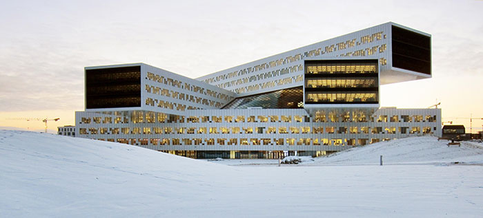 the european centre statoil regional and international offices