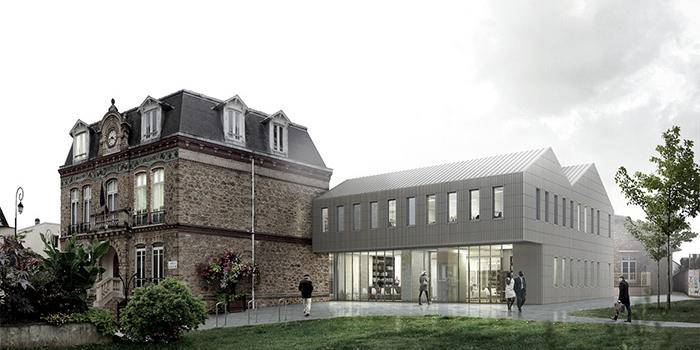 TowN Hall Extension - Graal Architecture - France