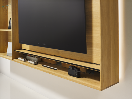 Wall Mounted Wooden Tv Cabinet Lux Collection 2017 Ried Im Innkreis Austria